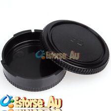 Camera Body Cover + Lens Rear Cap For Canon FD F-1N A1 T-90 AE-1P FL