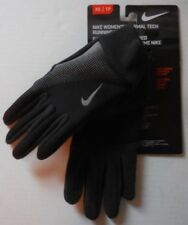 NIKE Women's Thermal Tech Run Gloves Color Black/Anthracite Size XS New