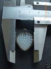 S411) edad vidrio corazón remolque
