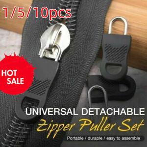 1/5/10pcs Universal Detachable Zipper Puller Set Wide Waistbands Elastic Waists