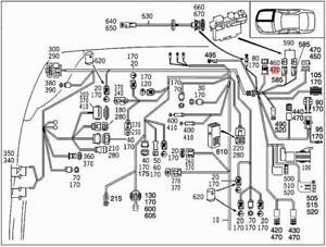 Genuine Mercedes Electrical Line  W222 V222 X222 0005403905