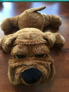 RUSS Dog Bear PUDDIE Brown Collectable Aust Seller