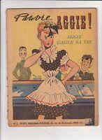 AGGIE 2. Aggie gagne sa vie. SPE 1949. EO.