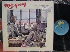 REDGUM Brown Rice & Kerosine 1981 OZ Folk/Rock LP Signed by Michael Atkinson