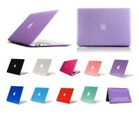 "Plastic Crystal Hardshell Hard Case Cover For New Apple Mac Book Air 11.6"" 13.3"""