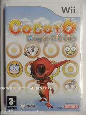 ITALIAN version: jeu COCOTO MAGIC CIRCUS nintendo WII gioco enfant en francais