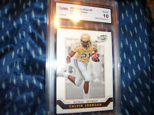 Calvin Johnson GRADED ROOKIE!!! Gem Mint 10! PP Se #7 Lions Megatron!! 2