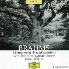 Karl B hm, J. Brahms - 4 Symphonies / Variations [New CD] Boxed Set