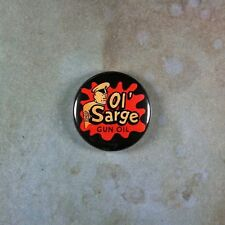 Vintage Style Advertising Pinback Button  1