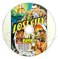The Lost City (1935) Complete 12 Chapter Movie Serial Cliffhanger (2 x DVD)