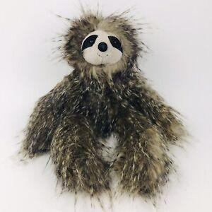 "Jellycat London Cyril The Sloth 16"" Fluffy Long Hair Plush Shaggy Stuffed Animal"