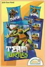 Bettwäsche Team Turtles Ninja Turtles gr. 135x200cm NEU
