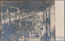 C.G.W. Railroad Shops In Oelwein, Iowa Real Photo Postcard ca.1908