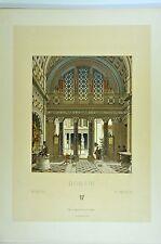RCF046 architecture romaine atrium style étrusco-grècque autels trophées