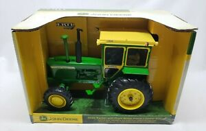 John Deere 4320 Tractor with FWA + Hiniker Cab By Ertl 1/16 Dealer Edition