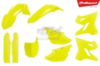 POLISPORT KIT PLASTICHE COMPLETE REPLICA GIALLO FLUO YAMAHA YZ 125 2015-2018--