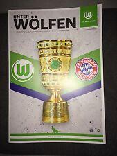 Programm VfL Wolfsburg - FC Bayern München 27.10.15 DFB-Pokal