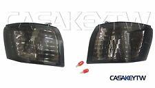 New Corner Chrome Smoked Lights For 1997 1998 1999 NISSAN SILVIA 240SX S14 C14B