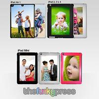 Personalised Photo iPad 2, 3, 4, iPad Mini & iPad Air 1, 2 Hard Case