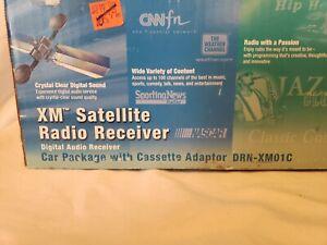 Sony XM Sirius Satellite Radio Receiver Car Package DRN-XM01C- Open Box