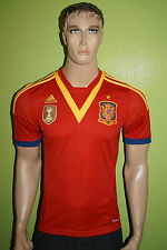 adidas Spanien 2012/2013 home Trikot Jersey Herren Gr.S Nationalmannschaft Spain