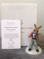 "Royal Doulton Bunnykins Orchestra ""The Violinist "" Db390 (Rare)"