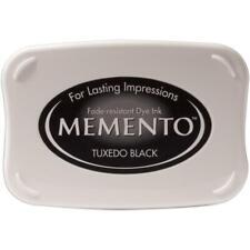 TUXEDO BLACK MEMENTO - FULL SIZED INK PAD or REINKER - TSUKINEKO