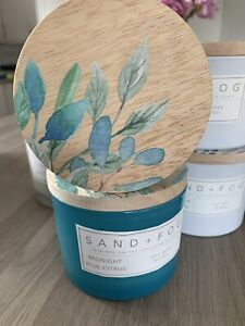 Sand And Fog Midnight Blue Citrus Candle 12oz 340g
