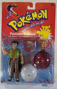 Hasbro Pokemon Trainers #37 Brock & Vulpix  NEW 1999 New NIP/MOC