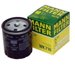 For Mercedes Benz W123 W126 240D 300CD 300D 300SD 300TD Fuel Filter WK716 Mann