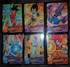 Carte Dragon Ball Z DBZ Dragon Ball Heroes God Mission Promo GDPM #Full Set 2015