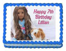 American Girl KANANI edible party cake topper cake image frosting sheet