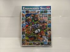 White Mountain Puzzles Endangered Species 1000 Piece Puzzle 2008 gm795