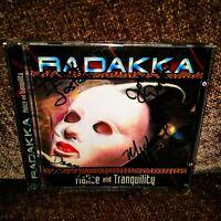 Radakka - Malice and Tranquility CD - Signed by Randy, Dean, Jon, Michael *Rare*