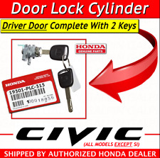 🔥 NEW GENUINE HONDA CIVIC 2004 2005 DRIVERS DOOR LOCK CYLINDER 72185-S5A-A11 🔥