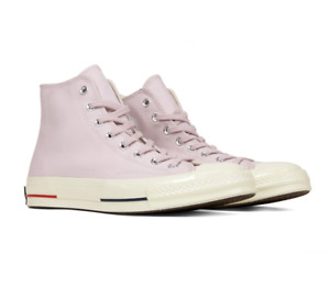 Converse Chuck 70 Heritage Court Hi Barely Rose Red Navy 160492C Mens Size 10