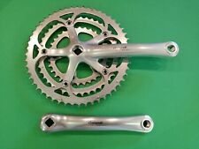 Guarnitura Campagnolo Racing T  175 ingranaggi 32-42-52 crankset Vintage