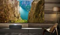 "Hisense 120"" L10 Series 4K Ultra HD Smart Dual Color Laser TV with HDR"