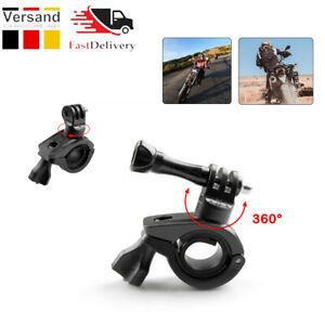 Fahrrad Motorrad Lenkerhalterung Halter für Gopro SJ5000 Kamera 360° Drehung