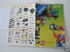 LEGO BROCHURE FLYER CATALOG TOYS 1999 PARTS SERVICE  DUTCH 6 PAGES 144