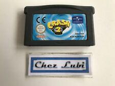 Crash Bandicoot 2 N-Tranced - Nintendo Game Boy Advance GBA - PAL EUR