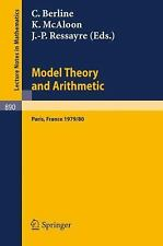 Model Theory and Arithmetic: Comptes rendus d'une action thematique programmee d
