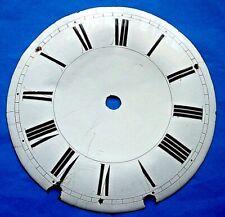 Cadran horloge comtoise 18 eme clock dial coq verge UHR Zifferblatt.Morbier
