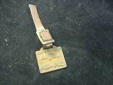 Vintage Caterpillar Construction Equipment Cleveland Bros. PA Keychain Fob