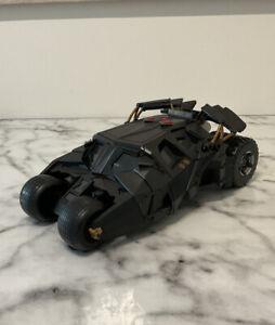 Batman Dark Knight Batmobile LIGHTS & SOUND Tumbler Vehicle  DC  Missing rockets