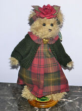 "New ListingJointed Bearington Bear #1443 Martha 14"" with Stand"