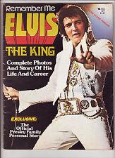 Remember Me - Elvis The King 1977 Fine Magazine