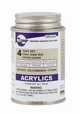 4 oz IPS SciGrip Weldon 4 Solvent Acrylic Plexiglass Glue Weld-On