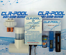 POOL IONIZER up to 25,000 gallon Lifetime Warranty