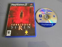 Forbiden Siren - Jeu Sony PlayStation 2 Ps2 - Version Promo Pal Fr